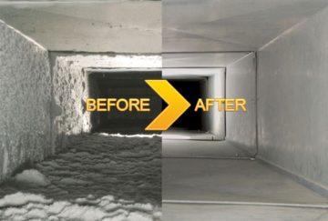 On site maintenance & service for ventilation system